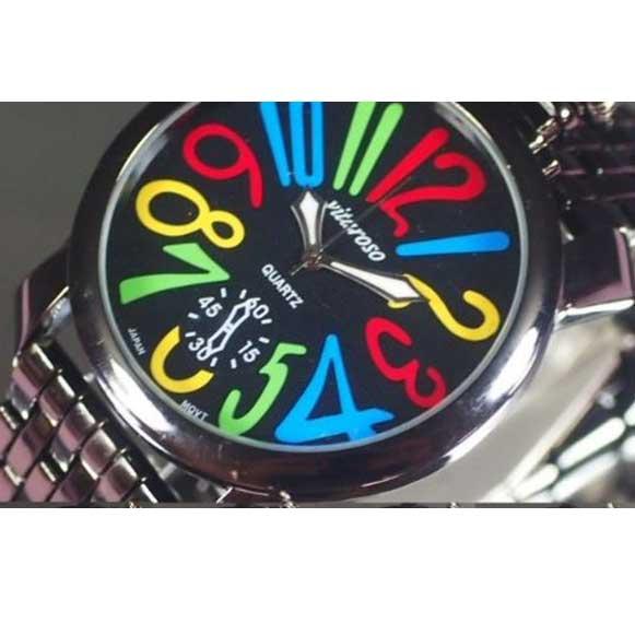 ※売れ筋 永遠の定番モデル 腕時計も見てね ココをクリック 腕時計 メンズ ビッグフェイスウォッチ 日本製ムーブメント 保証書付き カジュアル 文字盤ブラック トップリューズ 定番の人気シリーズPOINT ポイント 入荷 メタルバンド
