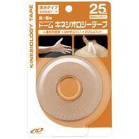 【72個セット】【1ケース分】 ドーム キネシオロジーテープ撥水タイプ25mm×72個セット 【正規品】