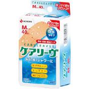 【100個セット】【1ケース分】 ケアリーヴ 防水タイプ (MサイズX40枚入)×100個セット 【正規品】 (ケアリーブ)