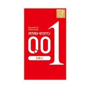 【30個セット】【送料·代引き手数料無料】【即納】ゼロワン 0.01ミリ 3個入り×30個セット オカモト【正規品】