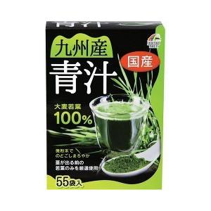 【送料・代引き手数料無料】九州産大麦若葉青汁100% (3g*55袋入) ×24個  1ケース分【正規品】