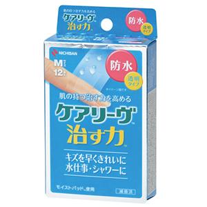 【30個セット】【送料無料】ケアリーヴ 治す力 防水タイプ Mサイズ(12枚入)×30個セット 【正規品】