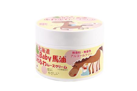 【10個セット】【送料・代引き手数料無料】 Coroku 北海道ベビー馬油ふわふわ ムースクリーム 200g×10個セット 【正規品】