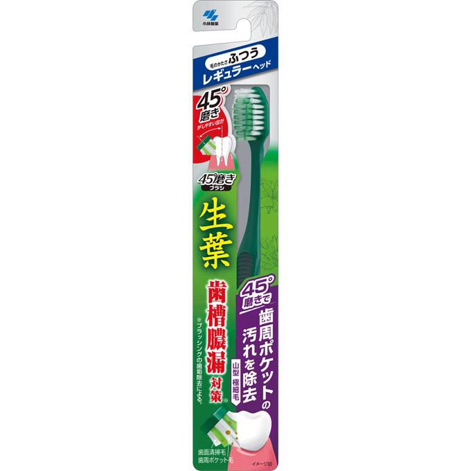 5個セット 生葉 45度磨きブラシ レギュラー お得セット ふつう 1本 正規品 ×5個セット 激安価格と即納で通信販売 歯ブラシ