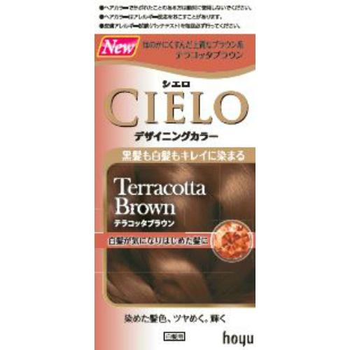 【10個セット】 シエロ デザイニングカラー テラコッタブラウン 1セット×10個セット 【正規品】