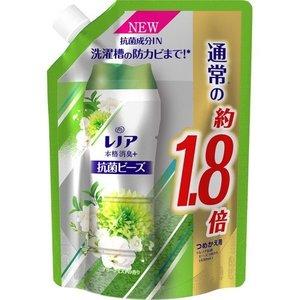 迅速な対応で商品をお届け致します 5個セット レノア ●日本正規品● 本格消臭 抗菌ビーズ グリーンミストの香り 特大サイズ つめかえ用 760ml×5個セット 正規品