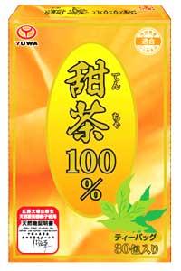 ユーワ 甜茶 100% 30包×48個セット 2ケース分 【正規品】 ※軽減税率対応品 てんちゃ