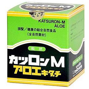 【3個セット】 カツロンM アロエキダチ 粒状 600粒×3個セット 【正規品】  ※軽減税率対応品