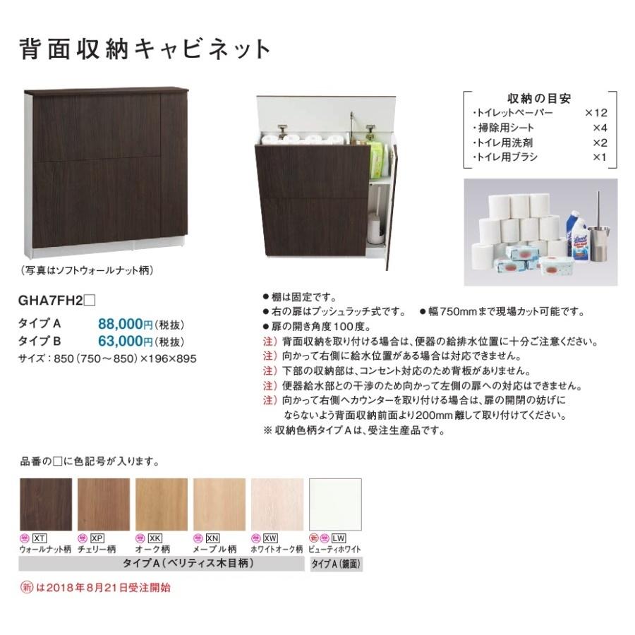 パナソニック アラウーノ手洗い向け背面収納(タイプA) 【GHA7FH2□】