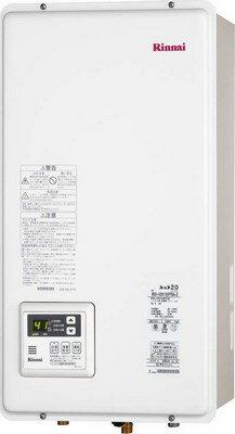 【在庫あり】 リンナイ(ゆっこ) ガス給湯器 16号FF方式 屋内壁掛方 後方給排気【RUX-V1615SFFBA-E】