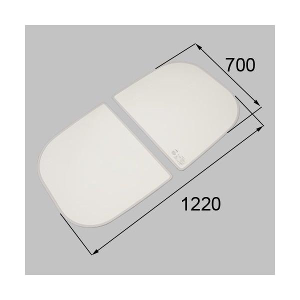 LIXIL(トステム)組みフタ 2枚組み【RMBX028】RMBX37,RMBX040,RMBX041,RMBX025の代替品