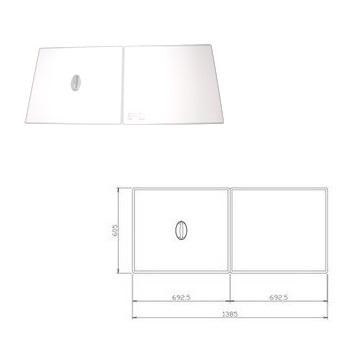 タカラ 浴室用オプション風呂フタ(2枚組)【フロフタMZ-16W】