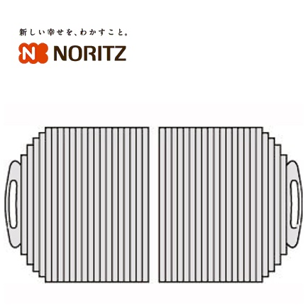 ノーリツ 浴室オプションふろふた(FC1280J-GY)【SCA7J91】