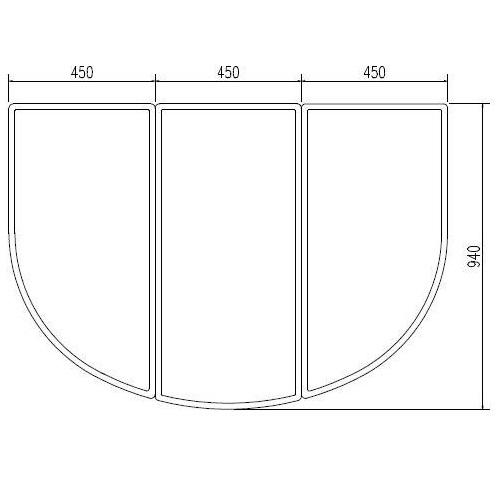 INAX LIXIL リクシル浴室オプション 風呂組フタ 【YFK-1494C(1)※】