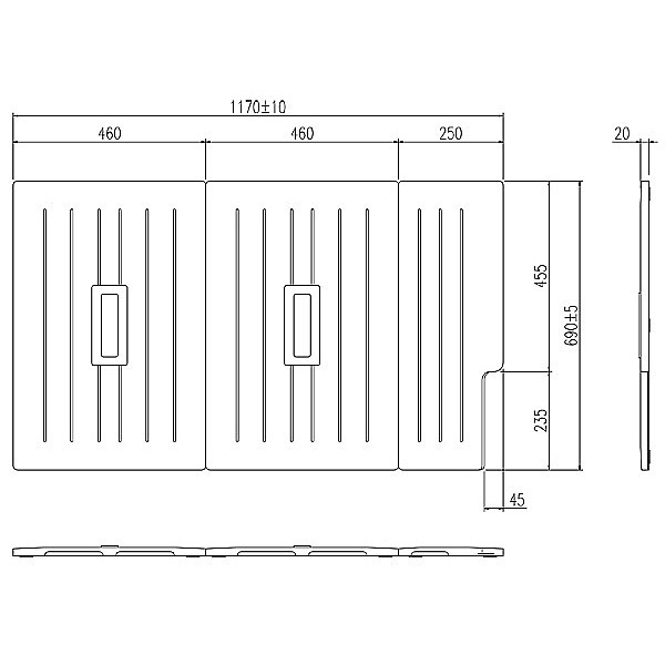 INAX LIXIL リクシル浴室オプション 風呂組フタ(ホールインワン浴槽対応) 【TB-120SK(L/R)◎】 TB-120SKL TB-120SKR