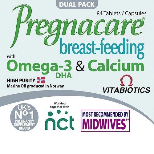 プレグナケア 商い 授乳 激安 激安特価 送料無料 栄養補助サプリ 84錠 Vitabiotics Pregnacare Breast Feeding 海外直送品 Capsules and 産後サプリメント 84 サプリメント 授乳中のママ向け Tablets