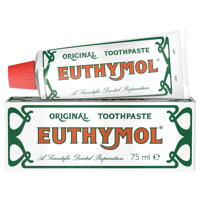 激安 激安特価 送料無料 最大1000円OFFクーポン配布中 予約販売 ユーシモール 歯磨き粉 75ml Euthymol 英国直送品 イギリス Toothpaste Original 歯みがき粉