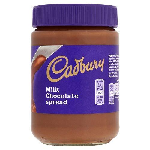キャドバリー Cadbury ミルクチョコレートスプレッド Milk 年末年始大決算 英国直送品 爆売り Chocolate Spread 400g