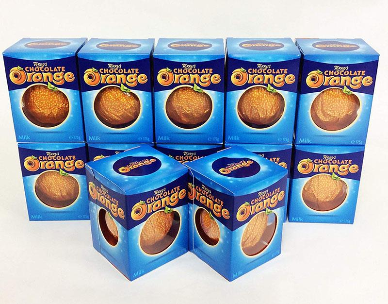 テリーズ TERRY'S Chocolate 157g x 12 boxes 海外旅行 イギリス オレンジミルク お土産 英国直送品 激安超特価 チョコレート 12箱セット 新商品!新型