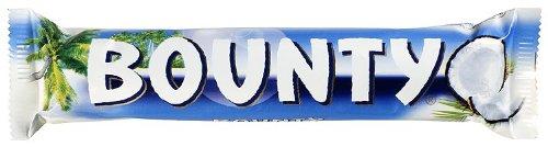 Bounty Milk Double 57 g (Pack of 24) バウンティ ミルクチョコレート 57g x 24個 イギリス お菓子【海外直送品】