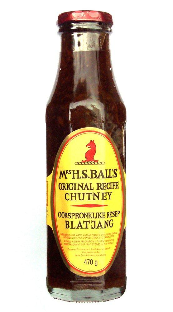 Mrs H.S.Ball's Original Recipe Chutney 375 ml【英国直送品】