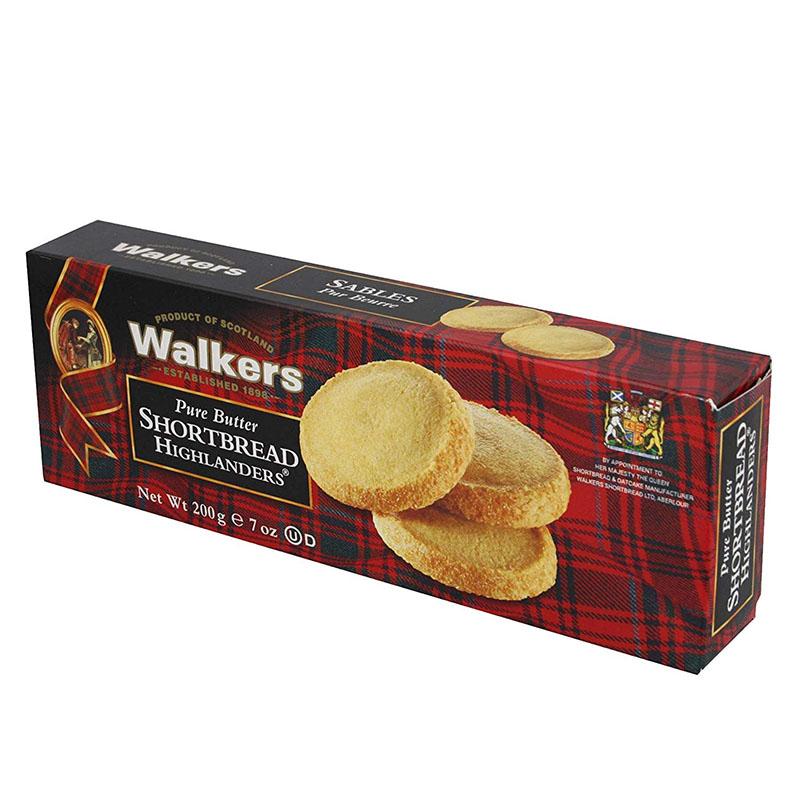 英国より直送 Walker's short bread おすすめ ハイランダー 再再販 ショートブレッド 200g ウォーカー
