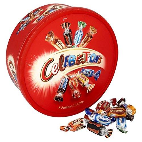 英国より直送 Celebrations Tub 650g 激安価格と即納で通信販売 Pack of 6 x ●スーパーSALE● セール期間限定 チョコレート 海外直送 6個 並行輸入品 セレブレーション キャンディー