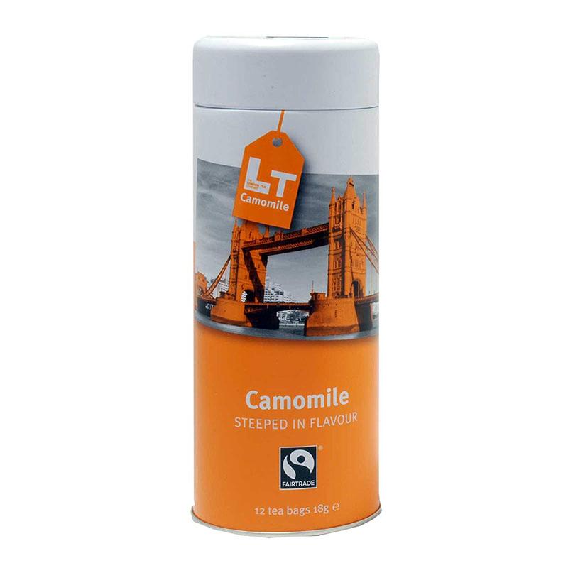 英国より直送 The London Tea Company 待望 Camomile 12 Bags 全品送料無料 Gift Tin ティー ロンドン ザ 12袋入り カモミール カンパニー