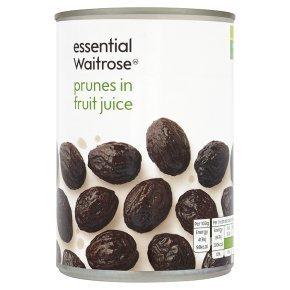 英国ウエイトローズ Waitrose フルーツジュース漬けプルーン 410G×5缶セット WAITROSE PRUNES IN FRUIT JUICE410G×5CANS【海外直送品】