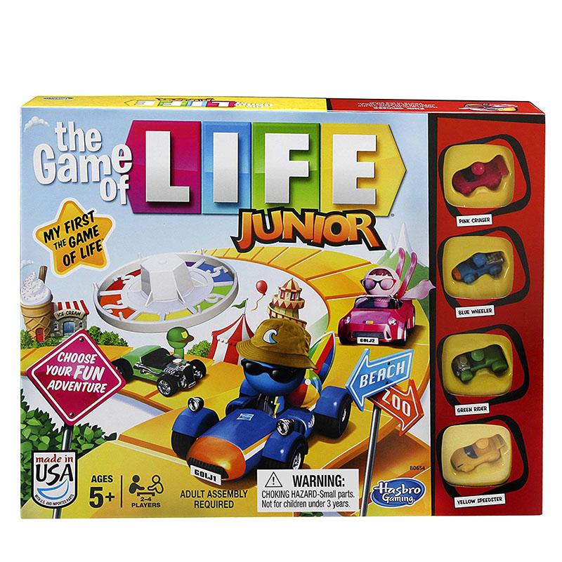 Hasbro The Game of Life Junior 人生ゲームジュニア 5歳から 英語版