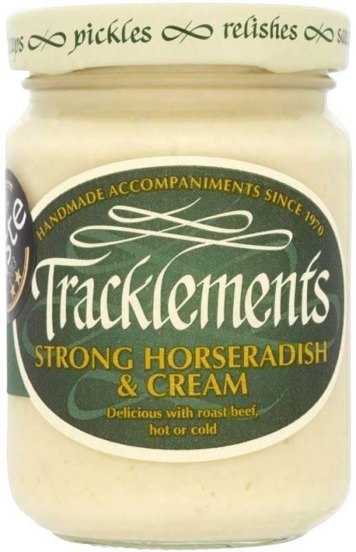Tracklements Horseradish & Cream Sauce (140g) Tracklements ホースラディッシュとクリームソース( 140グラム)