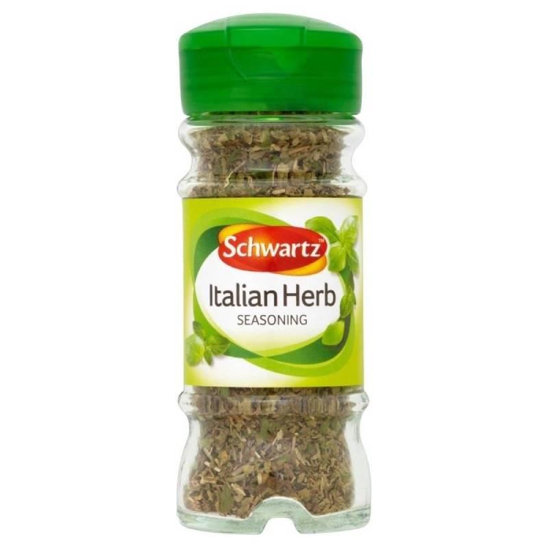 英国からお取り寄せ Schwartz Italian Herb 11g シュワルツイタリアのハーブ調味料 税込 Seasoning 11グラム タイムセール