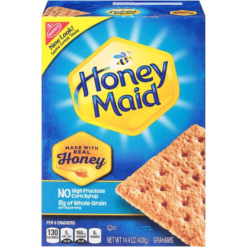 メイド グラハム クラッカーの蜂蜜 (14.4 オンス ボックス 12 パック) Honey Maid Graham Crackers (14.4-Ounce Boxes, 12-Pack)