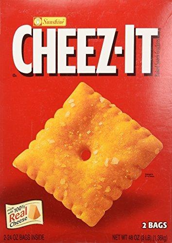 Sunshine Cheez-It Crackers - 3 lb. box by Sunshine