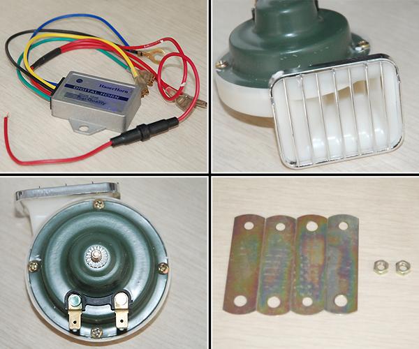 HAOER 18声音晶体管汽车喇叭按钮[AK-HT-708B]