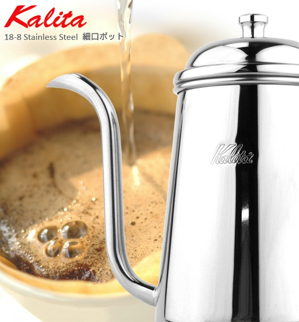 Carita Kalita stainless-steel pot etching 700 ml 0.7 L coffee pot with tea strainer coffee coffee coffee coffee shop outlets