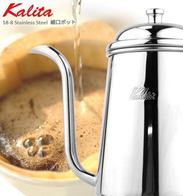 卡里塔 Kalita 蚀刻锅不锈钢 700 毫升 [52055] 咖啡锅不锈钢滴壶壶滴灌滴滤咖啡咖啡咖啡咖啡商店 0.7 L