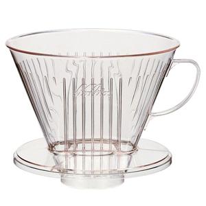 軽量で使いやすく簡単に洗えて便利 セールSALE%OFF カリタ Kalita プラスチック製 コーヒー ドリッパー コーヒーショップ 店舗 7~12杯用 104-D 珈琲 NEW売り切れる前に☆ 喫茶店