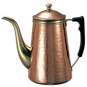 カリタ Kalita 銅製 コーヒポット 1.5リットル ドリップ式専用ポット 1.5L 1500ml 喫茶店 珈琲 コーヒー コーヒーショップ 店舗