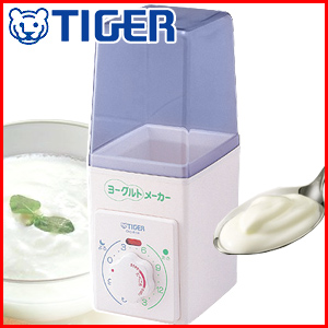 Tiger TIGER Yogurt Maker [CHD-B100-W] white measuring spoons with plain yogurt homemade yogurt homemade yogurt paper pack milk Pack home CHD-B 100 W Tiger thermos pollen seasons best ♪ □ □