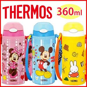 热水瓶热水瓶真空绝缘稻草瓶 360 毫升 [FFI-401FDS/FFI-401FB] 粉色蓝色的天空黄色米妮米老鼠米菲迪士尼 0.36 L 盖真空绝缘移动杯瓶热水瓶