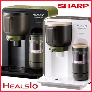 锯尖锐的SHARP茶mekaherushio茶puresso[TE-GS10A]黑色派白派茶PRESSO粉末茶粉末粉末器茶叶子的烧的点数照射的緑茶温茶rate冷茶抹茶