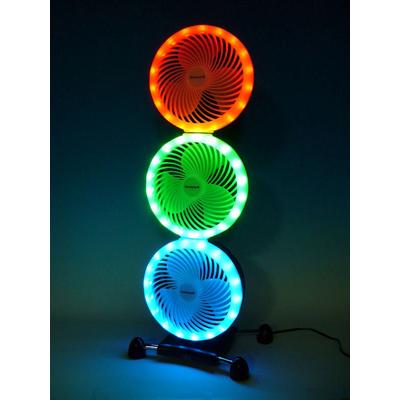面向6-8张榻榻米HONEYWELL三倍LED循环器[HS-NE03]3色装饰电风扇迷冷却3方向冷气暖气空调效率空气循环节电节能环保eco ECO发光二极管