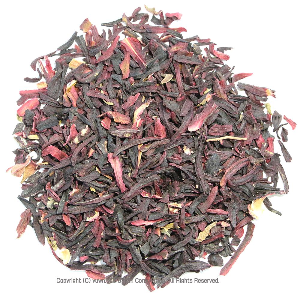 ハイビスカスティーは真っ赤で酸味【クエン酸】が強く、ビタミンCが豊富 ハイビスカス茶 ハイビスカスティー ハイビスカス カット 50g 有機JASオーガニック認証原料100%