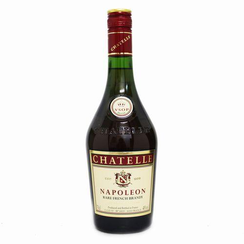 Brandy French Chatelle 店 春の新作 Napoleon ブランデー フレンチブランデー 700ml 正規品 シャテル 40度 ナポレオン