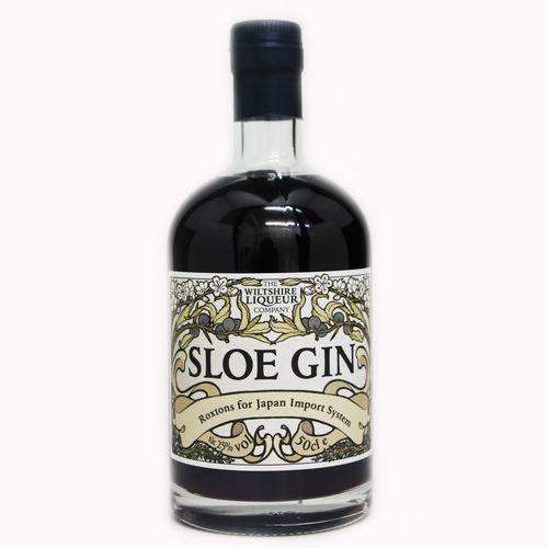 Liqueur 卸直営 Roxtons Sloe Gin リキュール 果実系 100%品質保証! 500ml ベリー 正規品 スロージン ロクストン 25度
