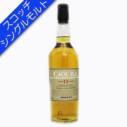 [スコッチ/シングルモルトウイスキー]カリラ 15年 アンピーテッド 700ml 60.3度【並行輸入品】