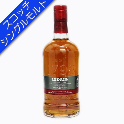 [スコッチ/シングルモルトウイスキー]レダイグ 18年 700ml 46.3度【並行輸入品】