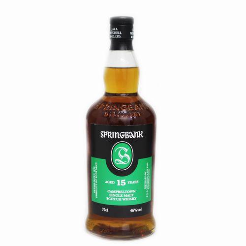 [スコッチ/シングルモルトウイスキー]スプリングバンク 15年 700ml 46度【並行輸入品】