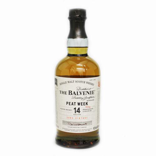 [スコッチ/シングルモルトウイスキー]バルヴェニー 14年 ピートウィーク 700ml 48.3度【並行輸入品】